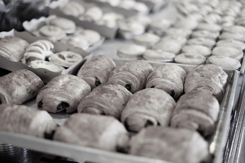 パン工場の様子
