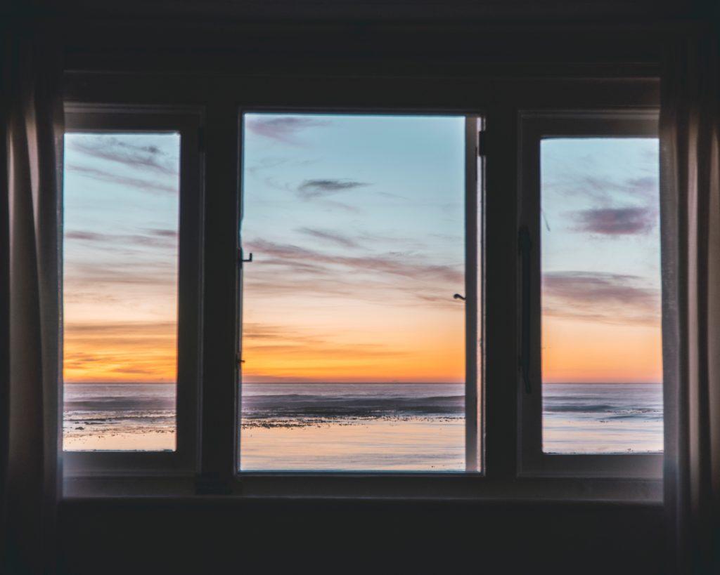 希望の夕日